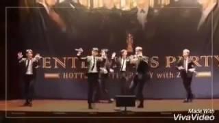 getlinkyoutube.com-2PM gentlemen's party, (randoms dance game)