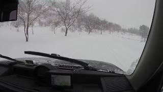 getlinkyoutube.com-雪道走行 -8.3℃