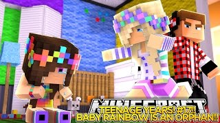 getlinkyoutube.com-TEENAGE YEARS #17 - BABY RAINBOW'S PARENTS ARE DEAD!!  - Little Donny Minecraft Custom Roleplay.