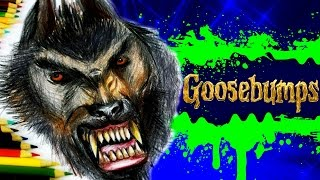 getlinkyoutube.com-GOOSEBUMPS Learn How to Draw WEREWOLF of Fever Swamp. SPEED DRAWING