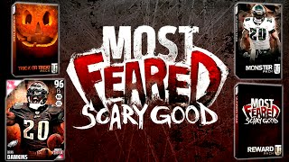 getlinkyoutube.com-MUT 16 MOST FEARED MONSTER PACK! Most Feared Pack Opening Monster Brian Dawkins Trick Or Treat Pack