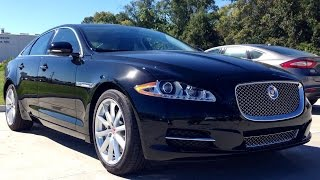 getlinkyoutube.com-2015 Jaguar XJ Supercharged Full Review, Start Up, Exhaust