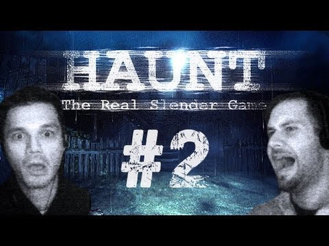 Horror - Haunt The Real Slender Game mit Facecam #2 - Let's Play Haunt Slenderman German