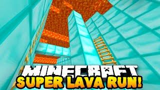 getlinkyoutube.com-Minecraft SUPER LAVA RUN PARKOUR! (Race Against Lava!) w/PrestonPlayz & MrWoofless