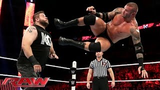 getlinkyoutube.com-Randy Orton vs. Kevin Owens: Raw, July 27, 2015