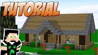 getlinkyoutube.com-Minecraft Tutorial: Casa de madeira simples #02