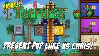 "getlinkyoutube.com-Terraria: Present PvP - ""Luke Games vs Domestic Minecrafter"" [Xbox one]"