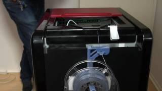 getlinkyoutube.com-▼ Da Vinci 1.0 Pro Filament Holder Large Spools