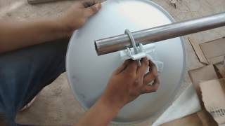 getlinkyoutube.com-Tutorial: Como crear un enlace punto - punto sin utilizar torres arriostradas