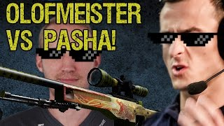 CS:GO 1v1 PaszaBiceps vs Olofmeister - Who win AWP Dragon Lore