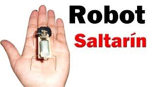 getlinkyoutube.com-Cómo Hacer un Mini Robot Saltarín (muy fácil de hacer)