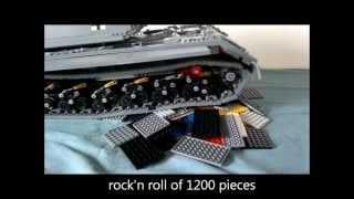 getlinkyoutube.com-Lego Pzkpfw VIII Maus panzer / tank / tanque