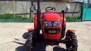 Мини-тракторы FOTON 244-254 (ВИДЕО-ПРЕЗЕНТАЦИЯ)