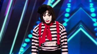 getlinkyoutube.com-America's Got Talent S09E01 Larry the Mime Prank