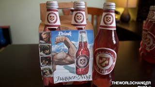 getlinkyoutube.com-BEST TUTORIAL! How to make Juggernog real life drink!