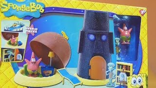 getlinkyoutube.com-Little Kelly - Toys & Play Doh : SPONGEBOB PATRICK'S HOME (Bikini Bottom)
