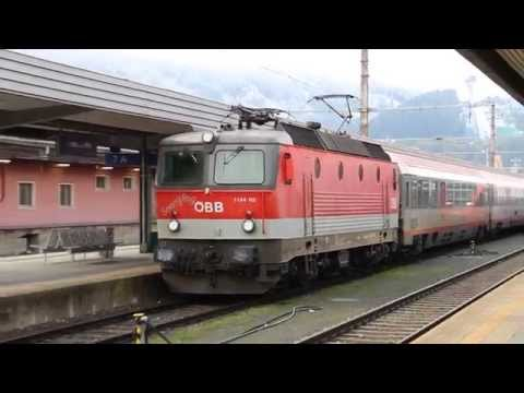 ÖBB 1144 113 mit Intercity in Innsbruck