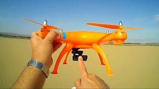getlinkyoutube.com-Syma X8C Drone Flying Like a DJI