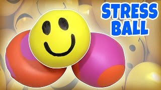 getlinkyoutube.com-Learn how to make Stress Balls   Squishy Balls   DIY Toys for Kids from Hooplakidz How To