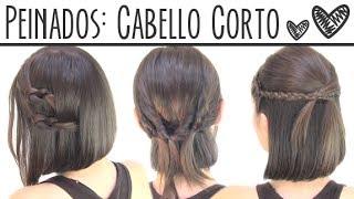 getlinkyoutube.com-Peinados fáciles para cabello corto | Short hair hairstyles