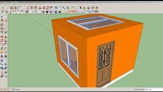 getlinkyoutube.com-سكتش اب تركيب الابواب و الشبابيك Sketchup advanced Window & Door