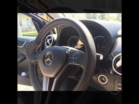 Как снять подушку безопасности Mercedes Benz B class 2012