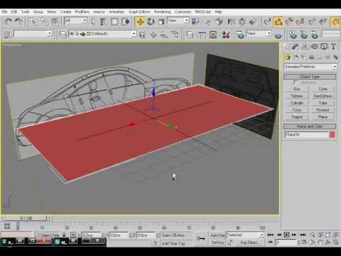 3d Studio Max tutorial: Modelowanie- Jak zacząć