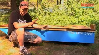 getlinkyoutube.com-One-Sheet Plywood Boat - Tiny Yellow House