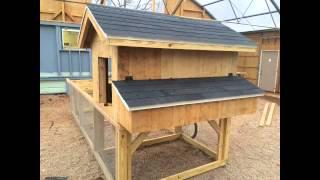 getlinkyoutube.com-DIY Chicken tractor coop build