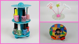 getlinkyoutube.com-Reciclar Cd - Porta Notas - Porta Fotos - Guarda Esmaltes