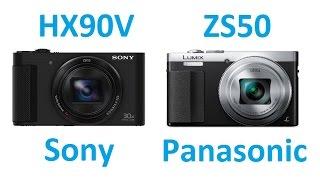 getlinkyoutube.com-Sony DSC-HX90V vs Panasonic DMC-ZS50