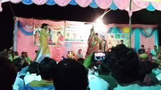 getlinkyoutube.com-Krisana gurjar and pinki rajasthani stage program in dubbi raj. Dausa