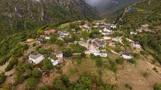 Vikos village - Record Guinness canyon magnificent flight