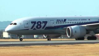 getlinkyoutube.com-熊本空港 離陸中止 ALL NIPPON AIRWAYS BOEING787-8 JA818A