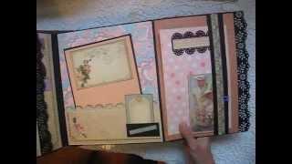 getlinkyoutube.com-Large Scrapbook Not-So-Mini Album G45 Place In Time