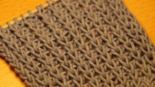 getlinkyoutube.com-Вязание спицами для начинающих. Английская резинка  ////  Knitting for beginners. British gum