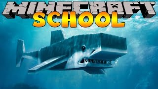 getlinkyoutube.com-Minecraft School : SHARK FISHING FIELD TRIP !
