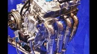getlinkyoutube.com-YAMAHA YZR-M1 Engine - MotoCroquis