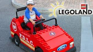 getlinkyoutube.com-LEGOLAND FLORIDA!!  Part 1