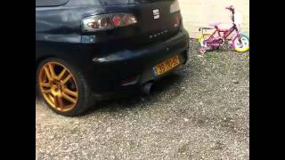 getlinkyoutube.com-Seat Ibiza 6L CUPRA 1.8T Backfire