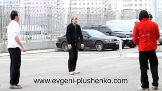 getlinkyoutube.com-Plushenko, Marton, Joubert playing football