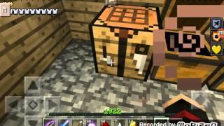 getlinkyoutube.com-Minecraft pe iksir yapımı #1 görünezlik ve rejen