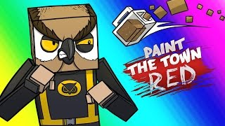 getlinkyoutube.com-Paint the Town Red Funny Moments - Vanoss & Delirious's Bar!
