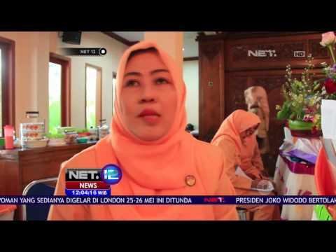 Ratusan Ibu di Lamongan Sajikan Aneka Olahan Ikan NET12