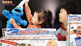 getlinkyoutube.com-유도브레이커 어플체인져 트레인포스 반다이남코 장난감 열차합체 Ressha Sentai ToQger Toys Unboxing & Review おもちゃ đồ chơi 라임튜브