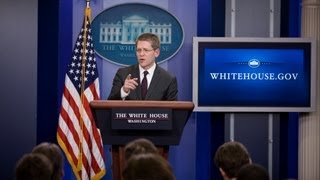 4/26/13: White House Press Briefing