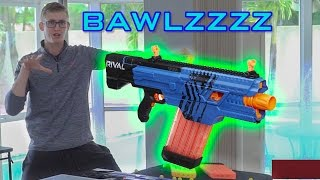 SHOOTING 430 NERF DARTS AS FAST AS POSSIBLE | RIVAL KHAOS!