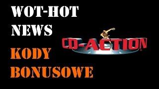 WoT & WoWs Kody Bonusowe i Zaproszeniowe od CD Action