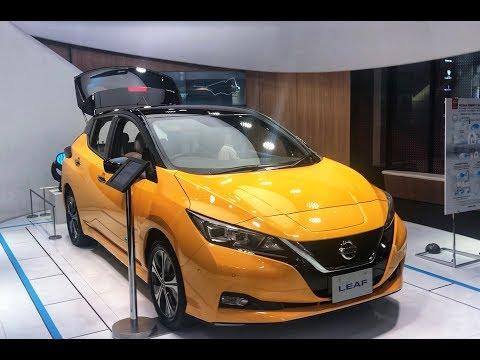 Nissan Leaf ZE1 из Японии