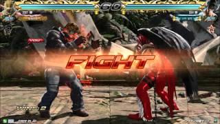 2/27 鉄拳7 破壊王(king) vs knee(devil jin)【龍神戦】part1 エンパラ